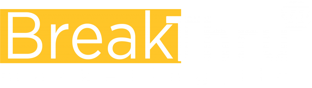 BreakThru 360 Marketing reversed logo